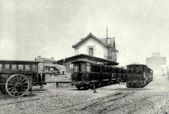 Fougeres gare des tramways