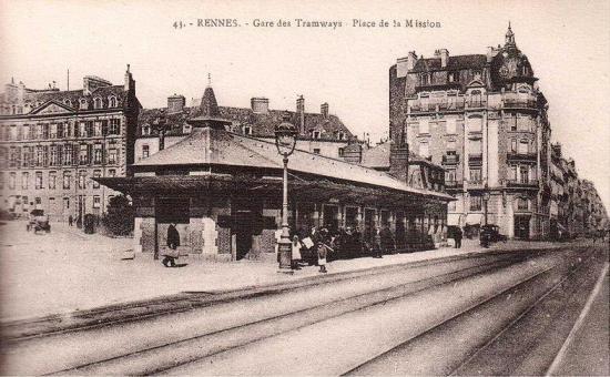 Gare tram mission