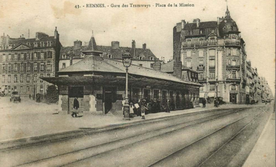 Gare trams la mission