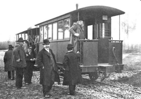Reception train miniac